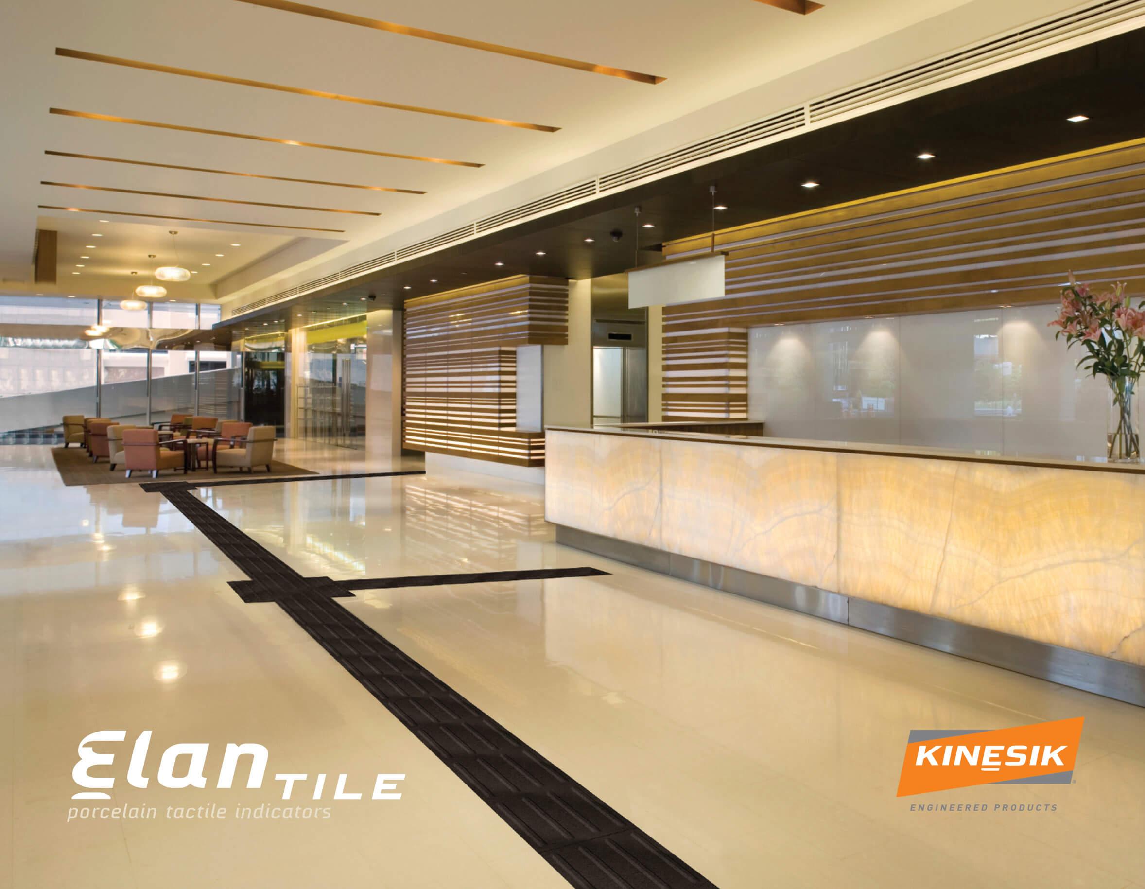 Elan Porcelain Attention Domes Tile